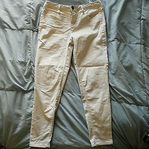 Express White Skinny Pant