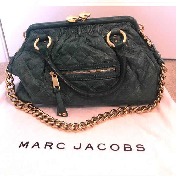 327f5db96f9 Marc Jacobs Bags | Authentic Vintage Green Stam Bag | Poshmark