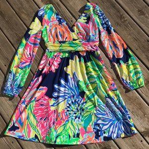 Lilly Pulitzer Fleur dress Travelers Palm