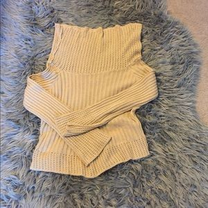 Cute women's sweater that's shows just enough skin