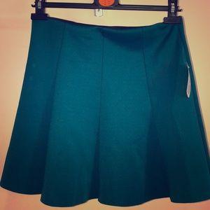Never worn Cute teal mini skirt