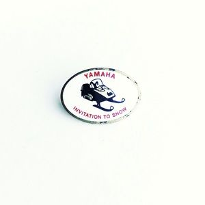 '65 Yamaha Snowmobile Pin
