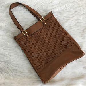 Merona camel bookbag