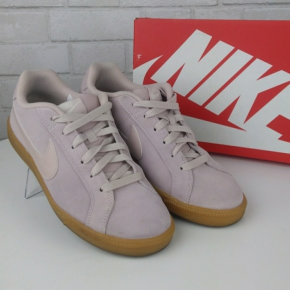new styles 3a7ca d7389 EUC Mike Court Royale Suede Blush Pink Sneakers. M5a11cbafeaf030da59081f55