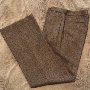 Herringbone wool slacks