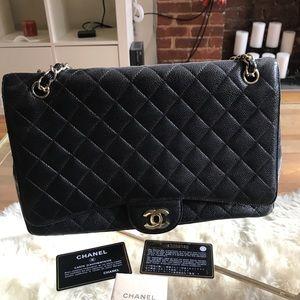 Handbags - Vintage Chanel Maxi caviar bag