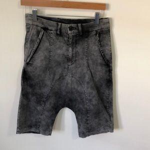 Edgy Drop Crotch Shorts