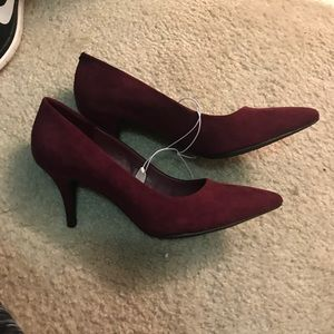 Wine Pumps with small heel