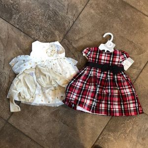 Holiday dresses-6 Months