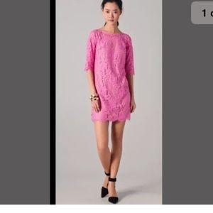 Robert Rodriguez's $395 pink lace dress 2