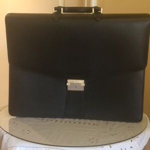 Authentic Ferragamo men's briefcase