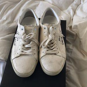 77ccfe50a96 Saint Laurent Shoes | Court Classic Sl06 Sneakers | Poshmark