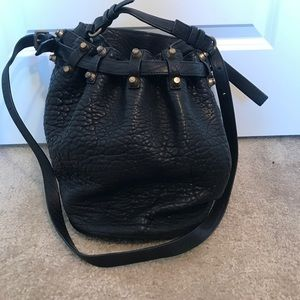 Authentic Alexander Wang Diego black bucket bag