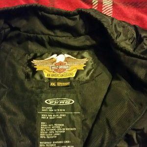 Harley Davidson waterproof nylon motorcycle jacket