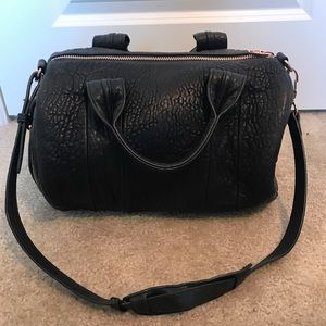 Authentic Alexander Wang black Rocco duffel bag