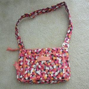 NEW Vera Bradley Little Hipster Pixie Confetti