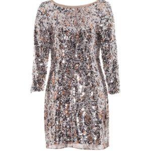 Amelie Leopard Sequin Dress - Elie Tahari 🥂🎉