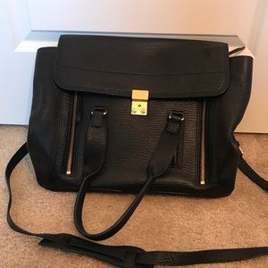 Authentic Phillip Lim black Pashli bag tote