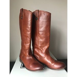 Frye Melissa button boots excellent used condition