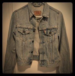Levis vintage jean jacket xs