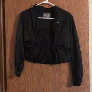 Charlotte Russe Cropped Jacket