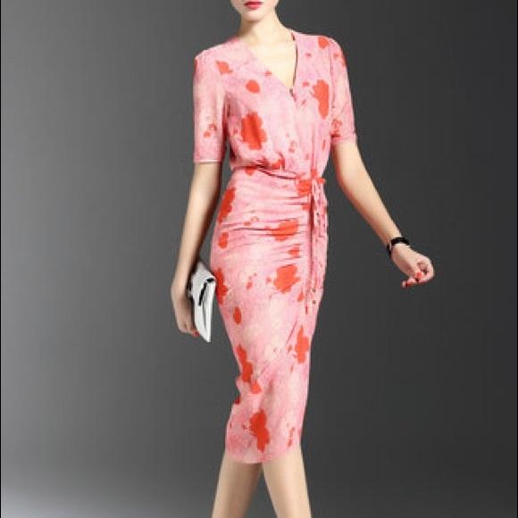 c902ac71 Stylewe Dresses | Floral Pink Midi Dress | Poshmark