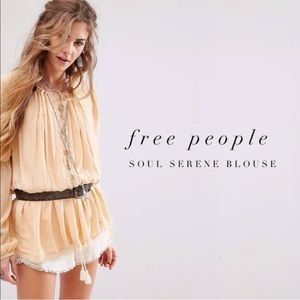 Free People The Soul Serene Blouse XS