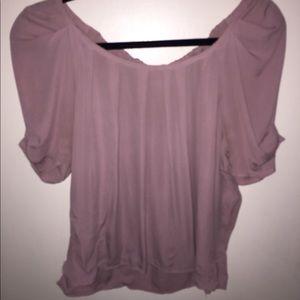 Pink Silk Joie Blouse