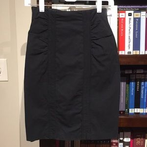 Nanette Lepore Black pencil skirt size 0