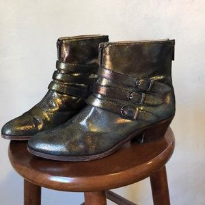 "Modern Vice ""Jasper"" Leather Ankle Boot 8.5"
