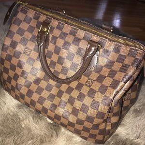 Louis Vuitton Speedy 35 damier authentic bag