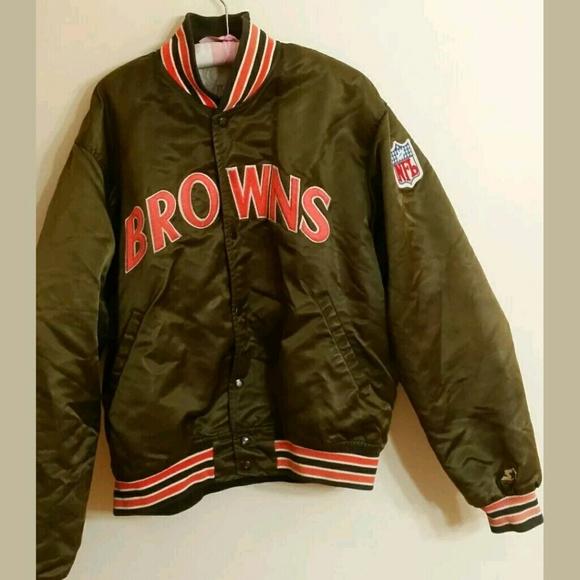 00c995a3 Vintage 90's starter jacket Cleveland Browns