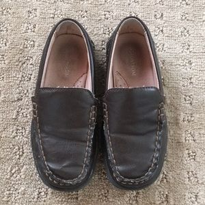 Nordstrom Boys Brown Tanner Loafers - Size 10