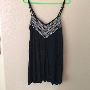 American Eagle light Black dress