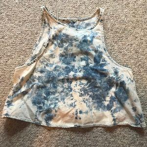 Acid wash tank top