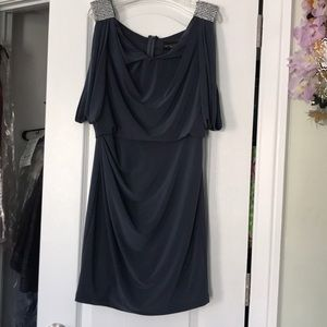 Silver/Gray Cocktail Dress