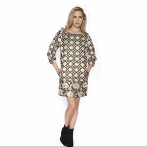 MSGM Brocade Shirt Dress NWT