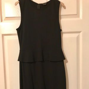 THEORY Black sleeveless dress. Worn once for event