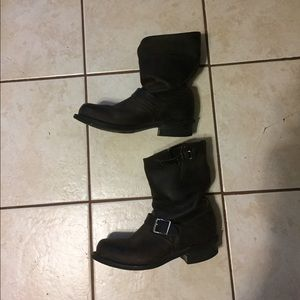 Frye boots in a women's size 8.