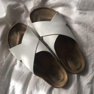 """Strappy slide on sandal """"birkenstocks"""""""