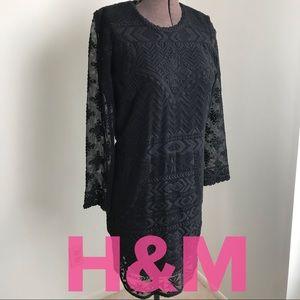 NWT Isabel Marant Pour H&M Black Lace Dress