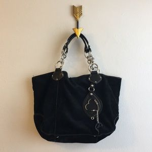 Juicy Couture Suede Shoulder Bag