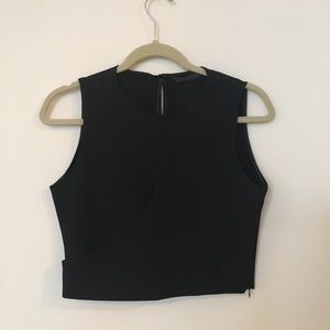 Zara - Black Crop Top