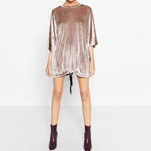 Velvet Sack Styled Dress