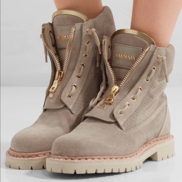 One Day Sale Balmain Taiga Boots Sz