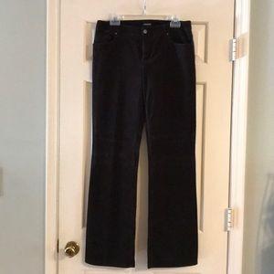 Tahari brushed corduroy jeans