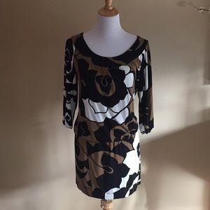 BCBG Max Azria floral mini dress/tunic