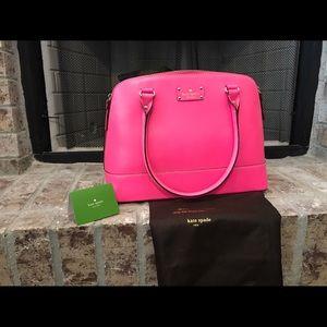Kate Spade Handbag Wellesley Rachelle in Pink