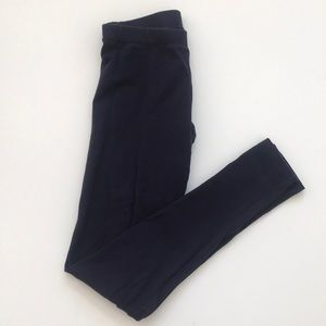 "VICTORIAS SECRET- ""yoga"" navy blue legging small"