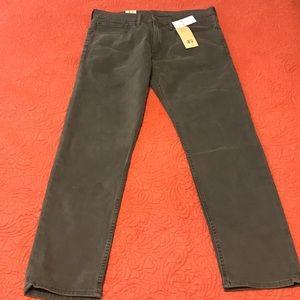 Levi's charcoal men's jeans
